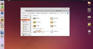 Ubuntu - thème Windows 10