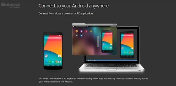 Mobizen - contrôler à distance une appareil Android