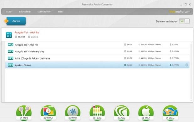 Fusionner fichier audio - activer combinateur