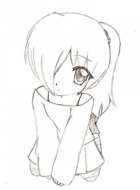 Dessin De Fille Manga : dessin, fille, manga, Idées, Tutos, Dessins, Mangas
