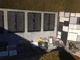 Detail of the memorial.