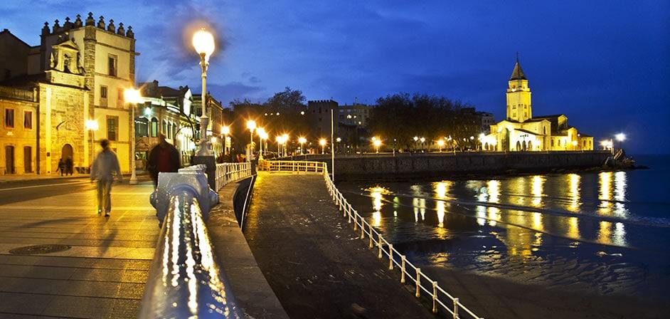Oviedo y gijón