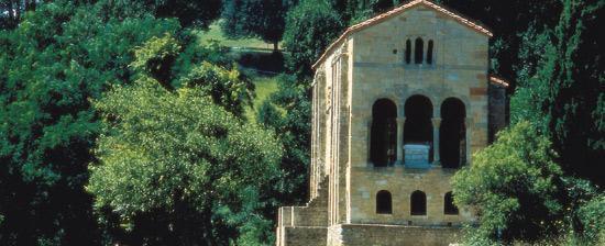 santa maria del naranco.Un día en Oviedo o Gijón