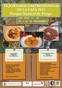 Jornadas de la caza en Ponga