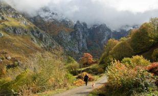 Entrando en el Valle de Angón