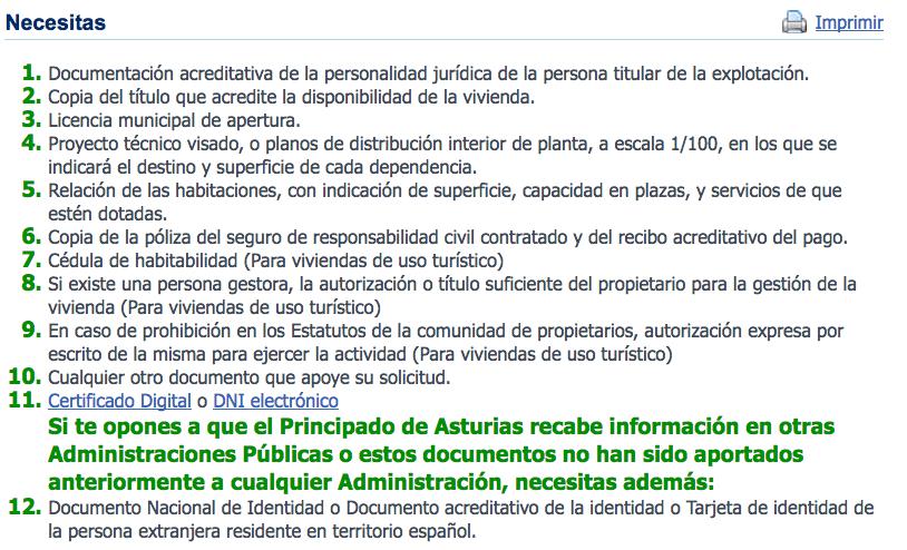 Vivienda Vacacional en Asturias