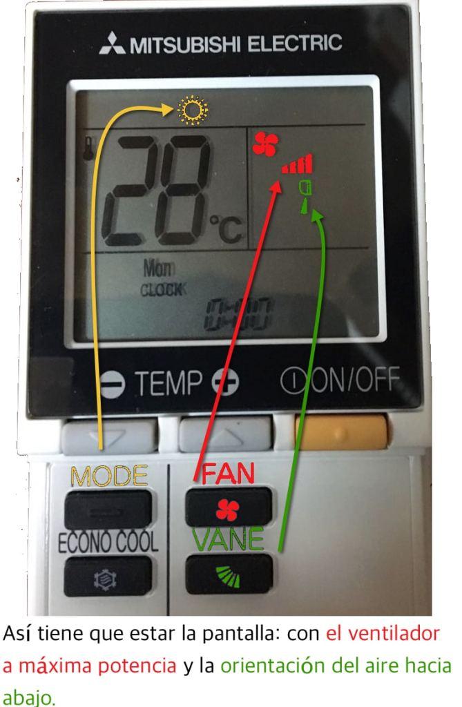 Como usar el aire caliente