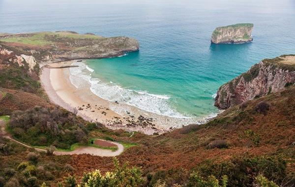playas asturias playa de ballota