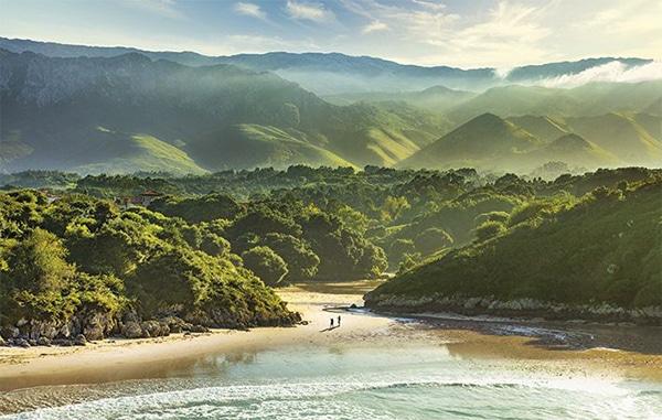 playas asturias playa del poo