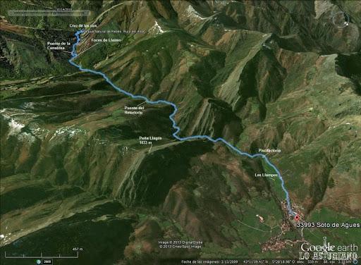 ruta del alba distancia