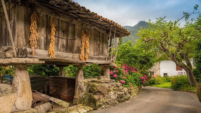horreos en asturias granero