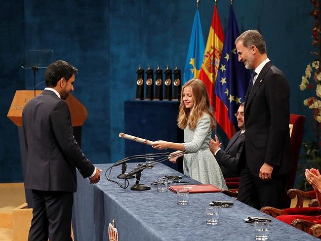premios principe de asturias entrega premios