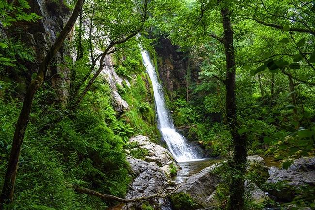 ruta por las cascadas de oneta maravillas