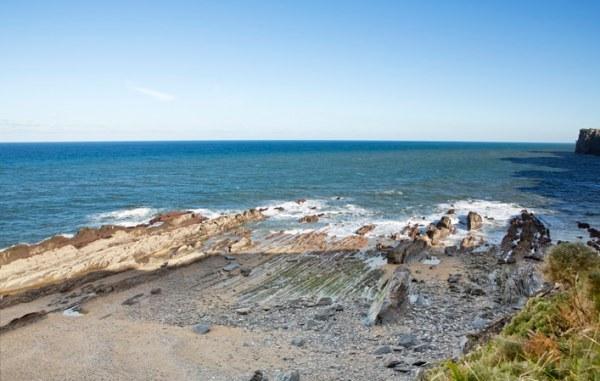 playa de arra en ribadesella