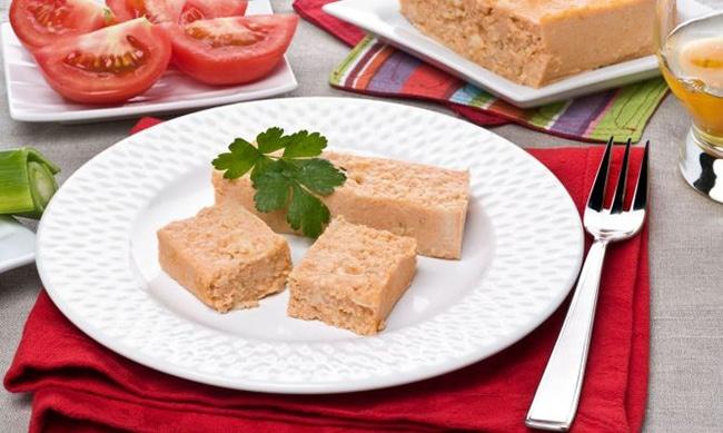 pastel de cabracho uno de los platos tipicos de asturias