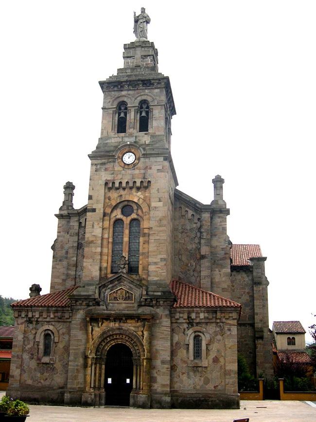 La iglesia de San Esteban de Ciaño