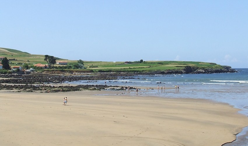 playas increibles para ir con niños en asturias