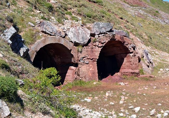 ruta por los lagos de saliencia mina de hierro
