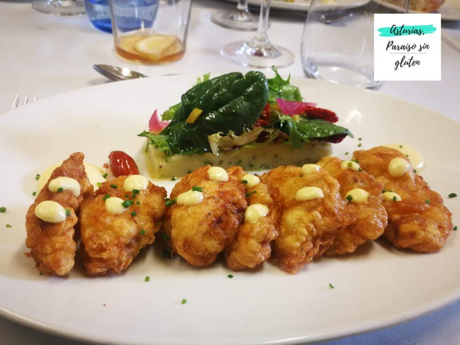 Fritos Pixin Restaurante Blanco