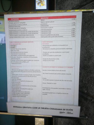 Info museos gijón