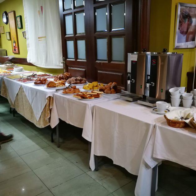 Desayuno Buffet Hotel Rural Cela