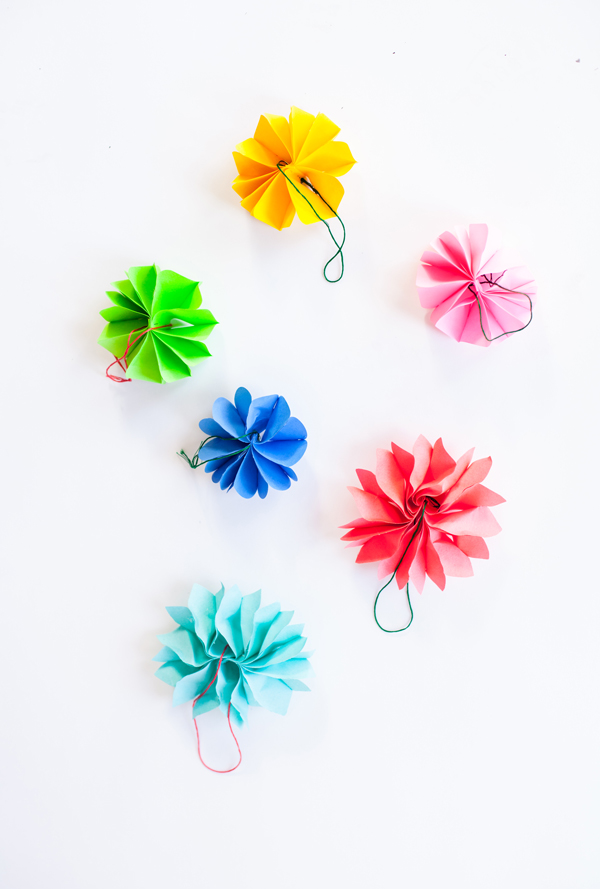 Post It Note Ornaments A Subtle Revelry