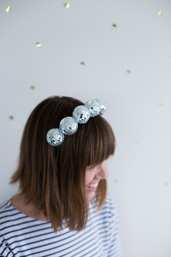 Disco Ball Headband A Subtle Revelry