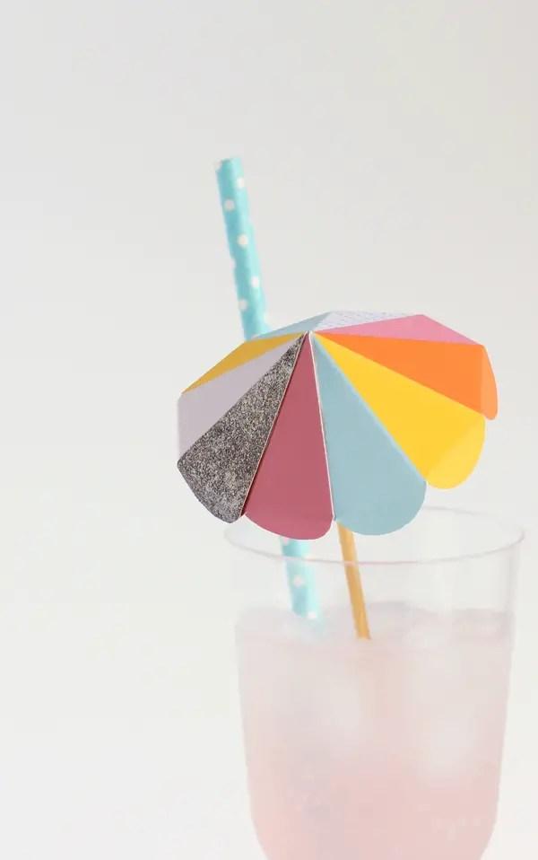 Paper umbrella drink stirs  A Subtle Revelry