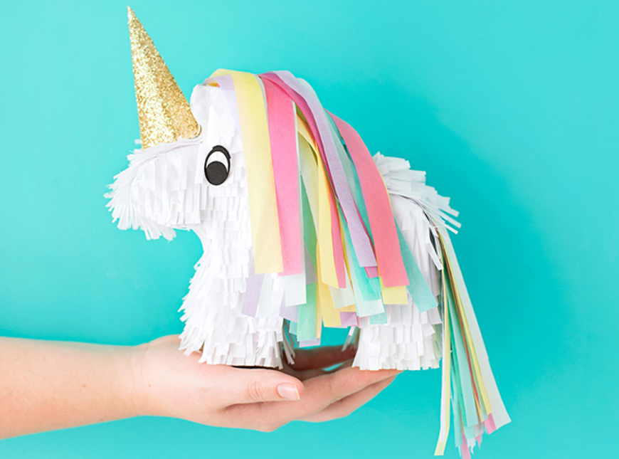 DIY Unicorn Pinatas  A Subtle Revelry