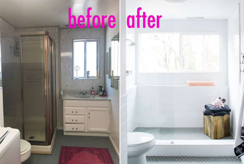 Our Basement Bathroom Renovation With Before  After