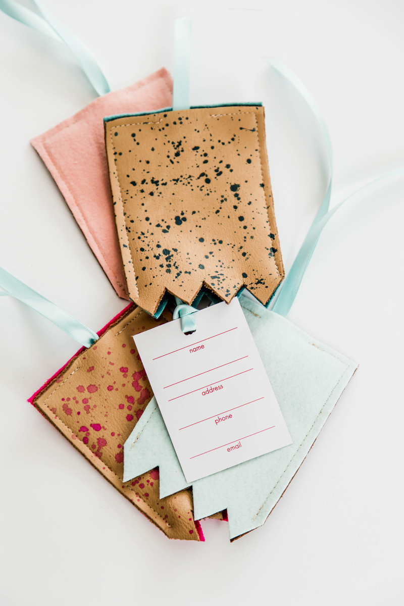 DIY Luggage Tag Template My Secret Packing Trick A Subtle Revelry
