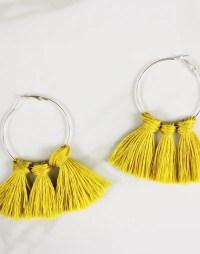 DIY Tassel Earrings In 3 Colorful Ways  A Subtle Revelry