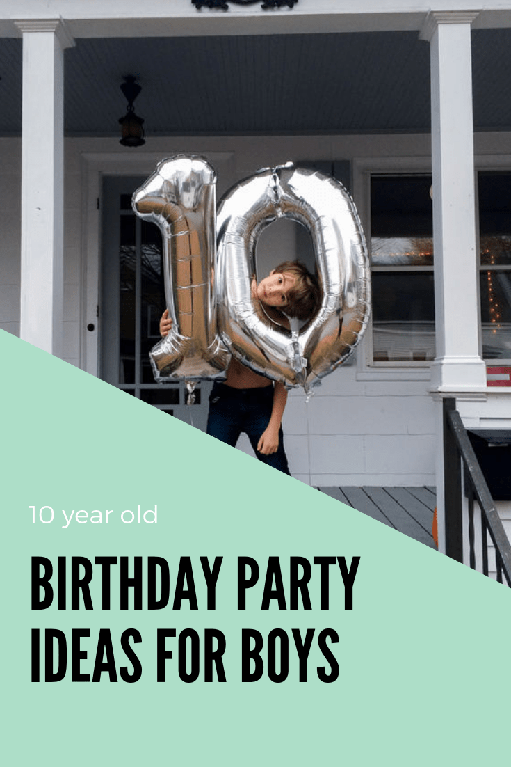 10 Year Old Birthday Party Ideas  A Subtle Revelry