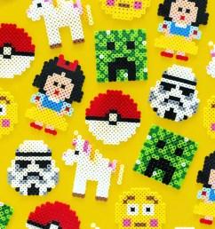 kid friendly perler bead designs [ 800 x 1200 Pixel ]
