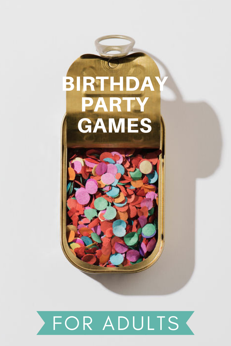 27 birthday party games