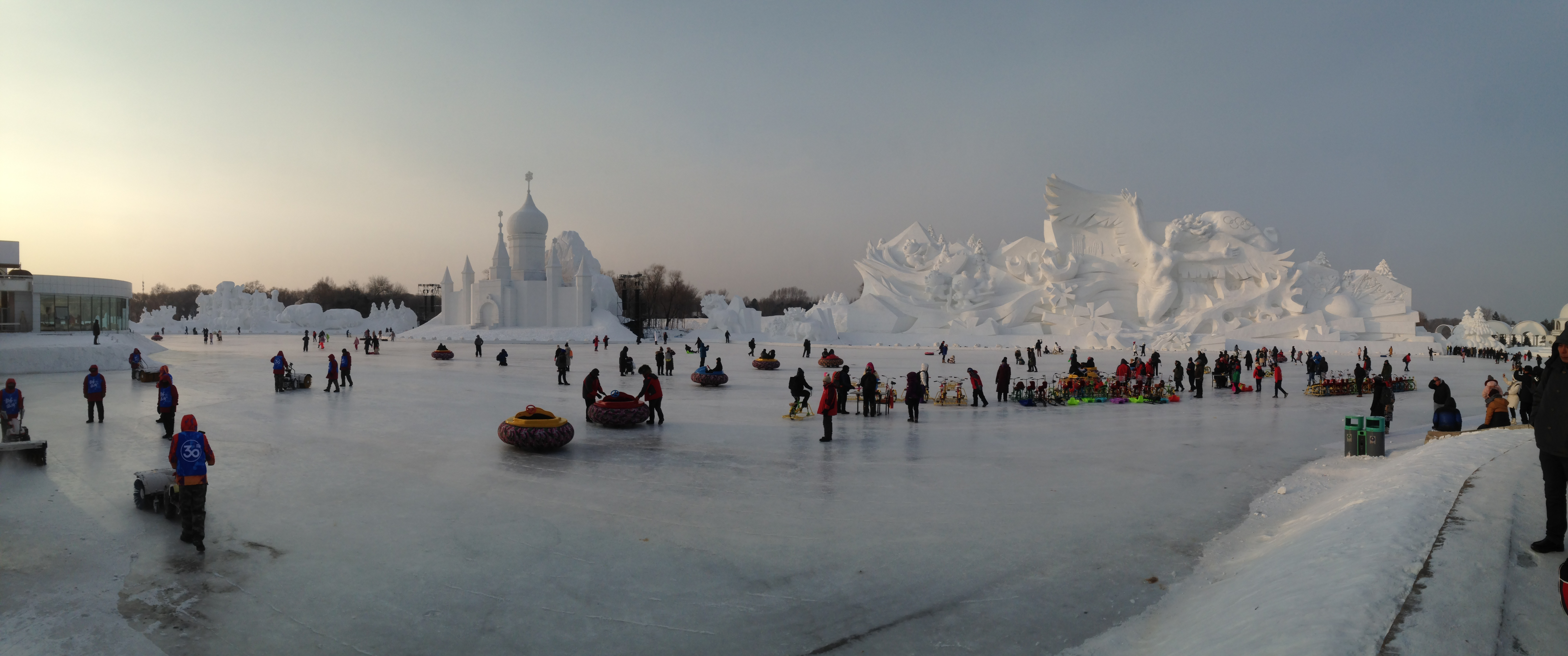 Main Area of Harbin Snow Sculpture