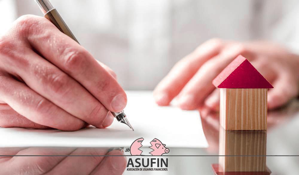 Asufin Demanda Gastos Hipoteca