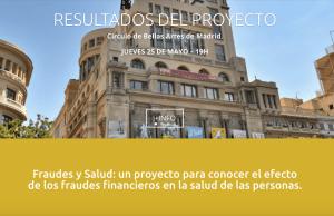 Finsalud presenta los resultados de su proyecto en el Círculo de Bellas Artes