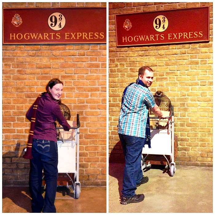 harry potter studio Platform 9 3/4