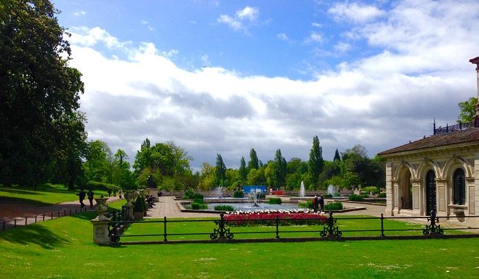 Kensington Garden's Italian Garden