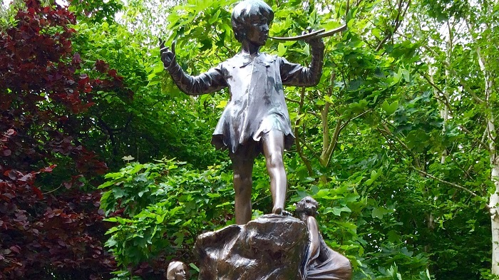 Literary London Site: Peter Pan