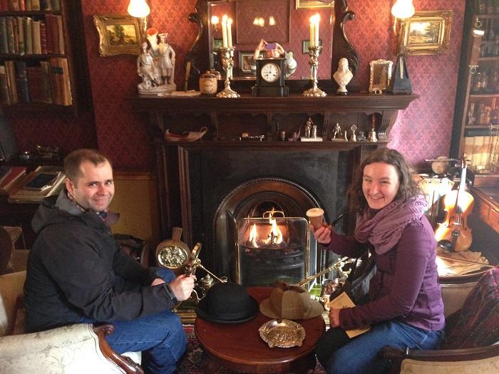 Sherlock Holmes' Study, 221B Baker Street, Sherlock Holmes Museum, London