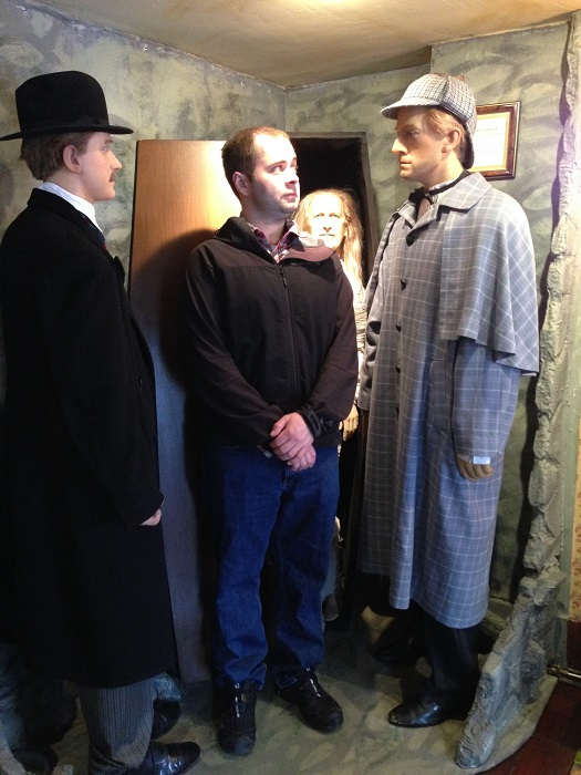 Sherlock Museum Wax Figures