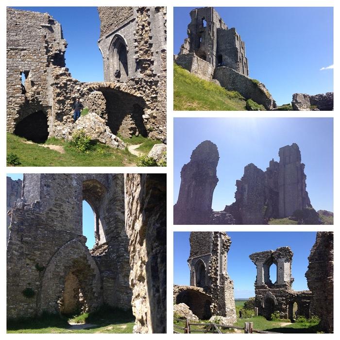 Corfe Ruins
