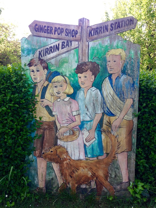 The Famous Five in Corfe, England