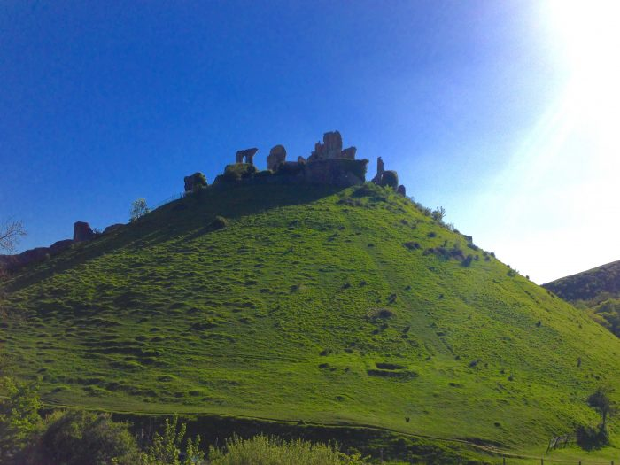 Corfe Castle, inspiration for Kirrin Castle