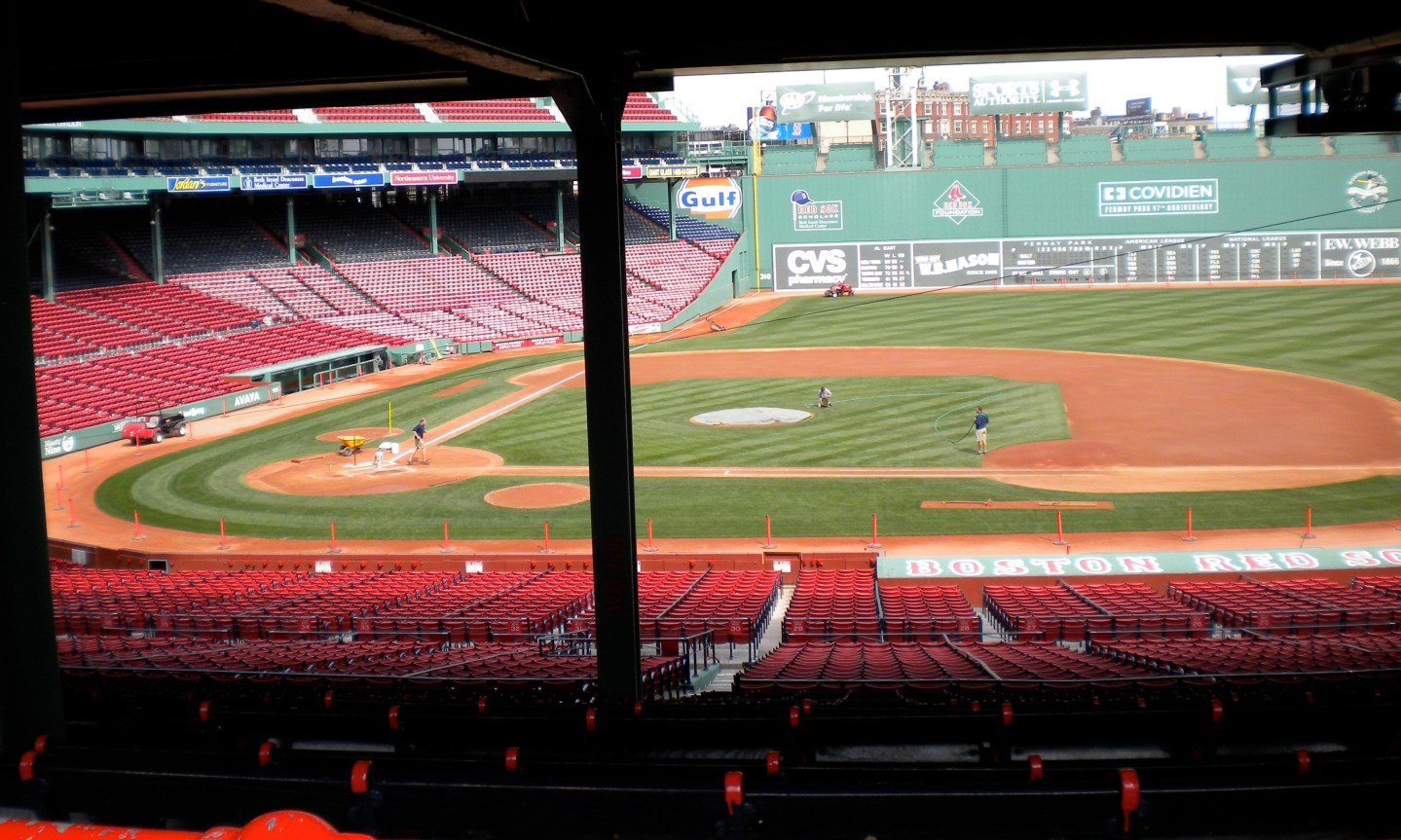 Boston: At the base of the Green Monster