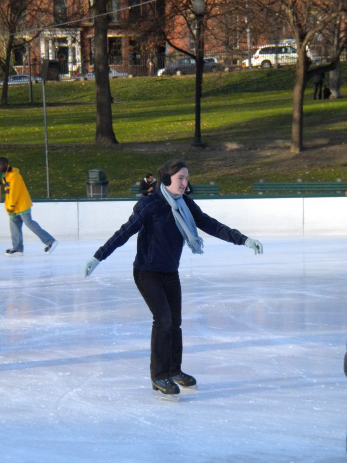 Boston: Frog Pond Skating