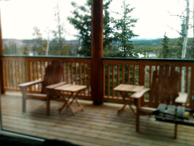 Shilo's Chalet view of lake