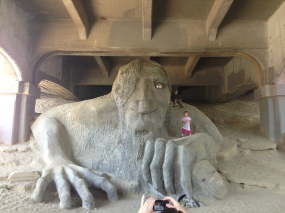 Seattle Under the Bridge Troll